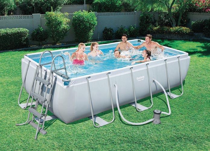Power Steel Frame Pool bestway
