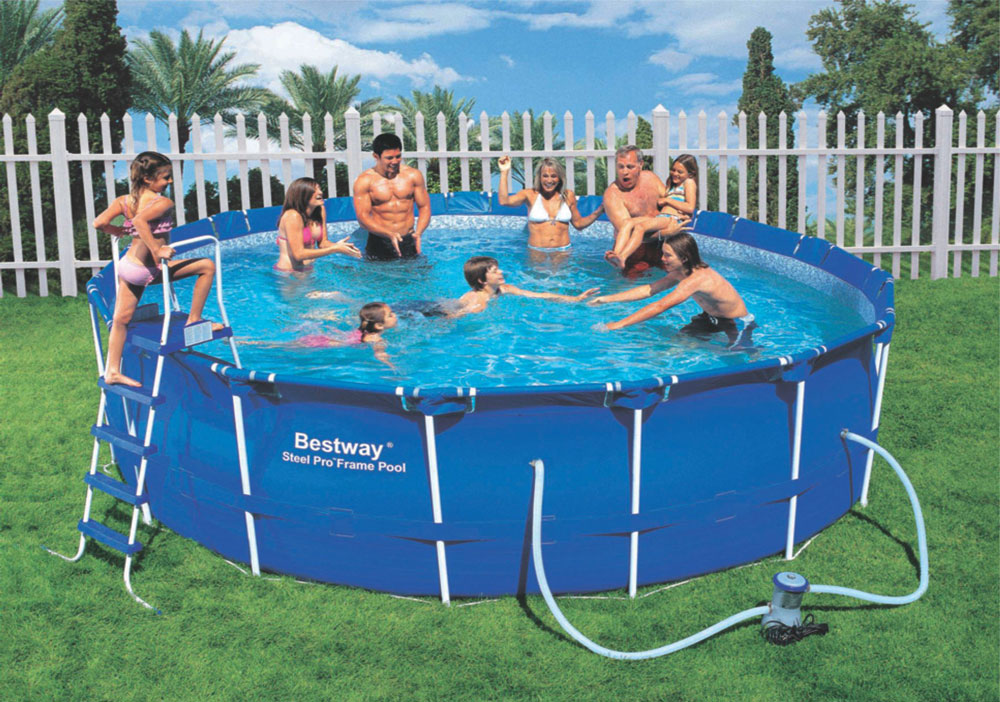 Bestway steel pro frame recensione completa con for Riparare piscina