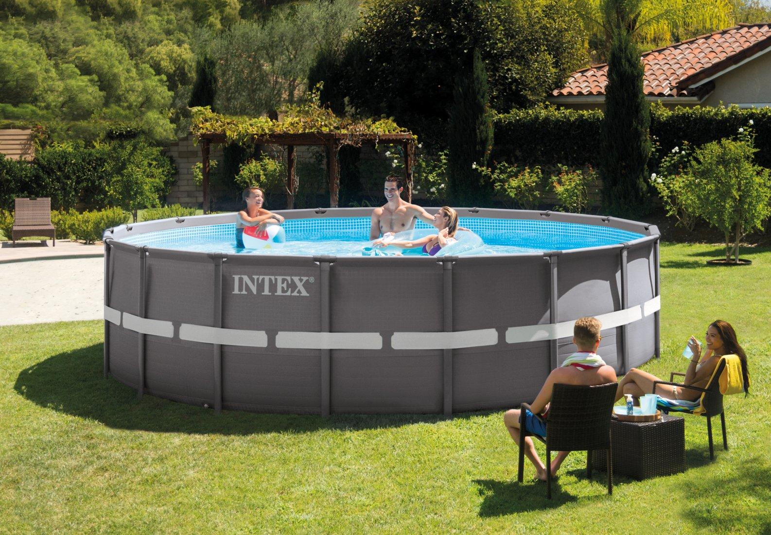 piscine fuori terra intex ultra frame
